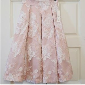 Organza blush skirt